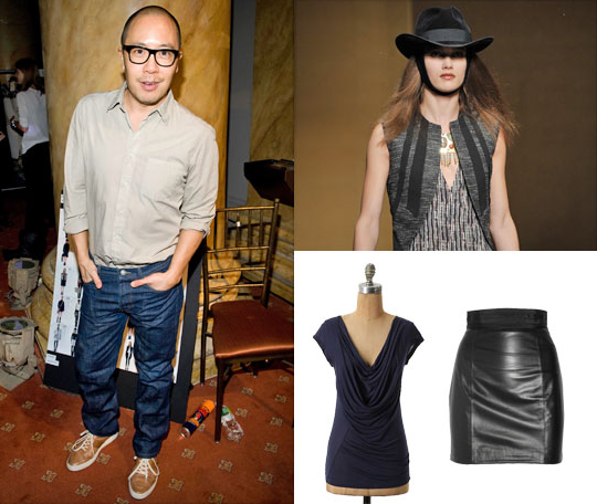 Did you hear? We met Derek Lam, and he told us his favorite color combos!