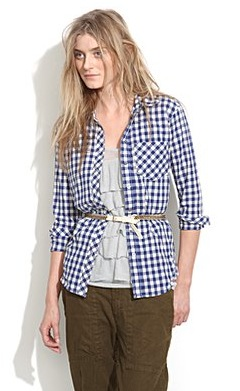 Plaid shirts are here to stay. Invest in this Button-Down Boyshirt ($50, originally $68) and throw it on with denim or another print!