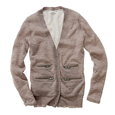 There are regular cardigans, then there are zippered cardigans like this Zip Cardigan-Jacket ($70, originally $98). Wear it with a tee, skinny jeans, and some edgy booties.