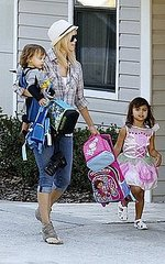 Elin Nordegren: Schoolhouse Halloween with the Kids