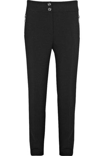 Burberry-Crepe-jersey slim-leg pants
