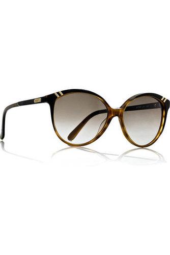 Chloé-Belladone cat-eye-frame acetate sunglasses