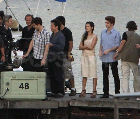 Pictures of Robert Pattinson and Kristen Stewart in Rio