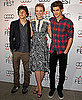 Pictures of Carey Mulligan, Andrew Garfield and Jesse Eisenberg at an AFI Roundtable 2010-11-08 02:00:00