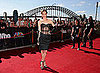 Round up of Celebrities on the Aria Awards Red Carpet 2010, including Ruby Rose, Washington, Jessica Mauboy and Carmen Electra
