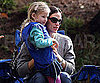 Slide Picture of Jennifer Garner and Violet at Soccer in LA
