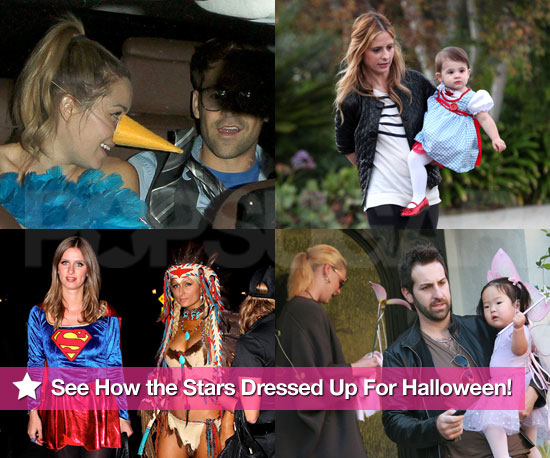 See How the Stars Dressed Up For Halloween!