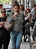 Pictures of Katie Holmes Getting Coffee in LA