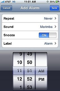 iPhone Daylight Savings Alarm Bug