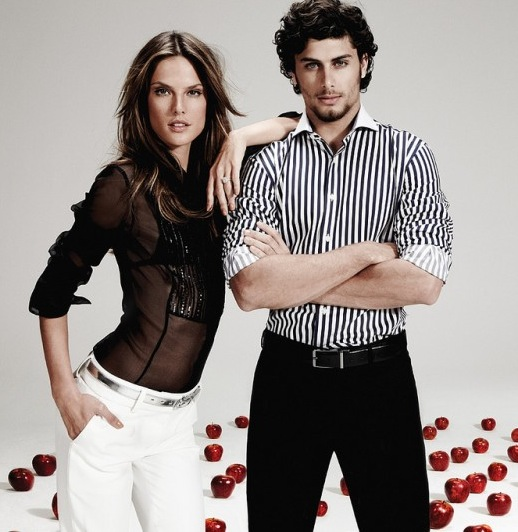 Fellow Brazilians Alessandra Ambrosio And Jesus Luz Get Sexy!