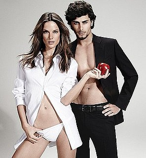 Jesus Luz and Alessandra Ambrosio in Chenson Spring 2011 Ads 2010-11-02 05:00:04