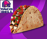 Taco Bell's Fresco Ranchero Chicken Soft Taco
