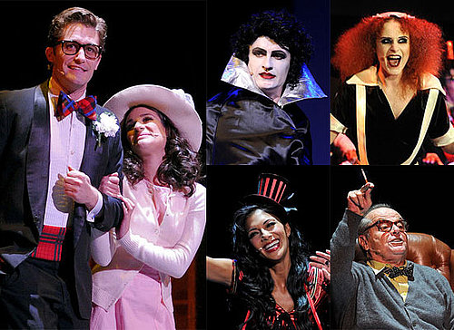 Matthew Morrison, Lea Michele and More Celebrities in a Performance of Rocky Horror Picture Show in LA