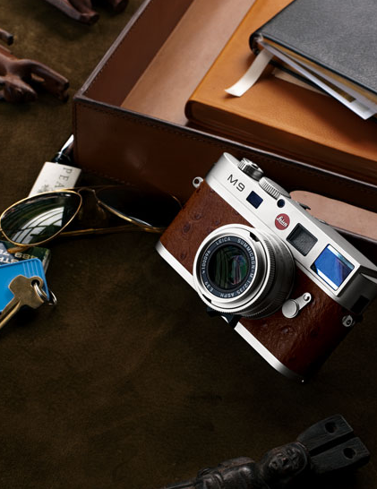 Only 50 of these Leica M9 Neiman Marcus Edition Cameras ($17,500) — which combine the classic Leica M shooting with digital technology — exist in the entire world.