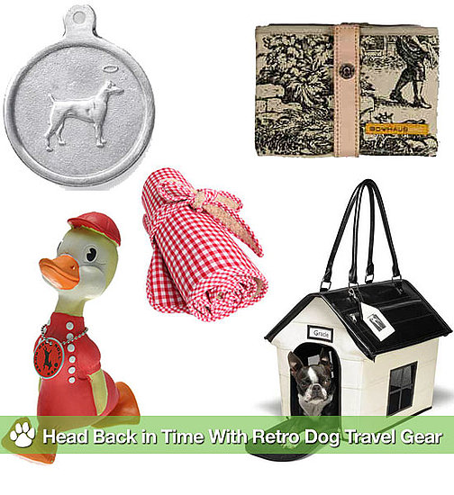 Retro Dog Travel Goods