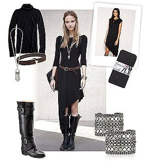 How to Wear Asymmetric Hem Dresses For Fall 2010