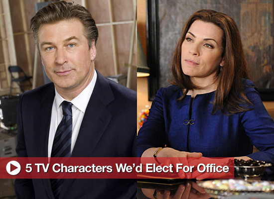 5 TV Characters We'd Elect For Office