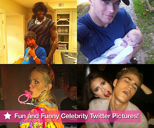 Fun and Funny Celebrity Twitter Pictures 2010-11-04 07:00:00