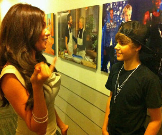 Backstage Bieber Fever