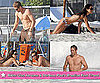 Jordana Brewster Bikini Pictures, Shirtless Paul Walker Pictures in Brazil Filming Fast Five