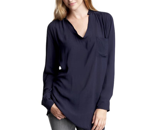 Gap Shirred Blouse