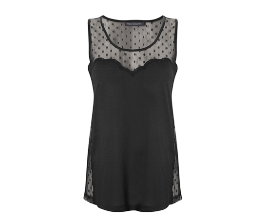 French Connection Lia Lace Tank