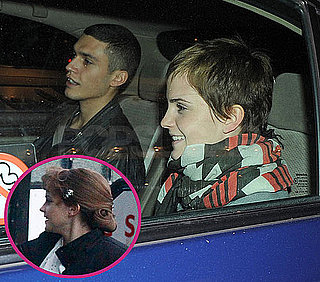 Pictures of Emma Watson and Mystery Man in London After Filming My Week With Marilyn and Split From Ex Boyfriend George Craig