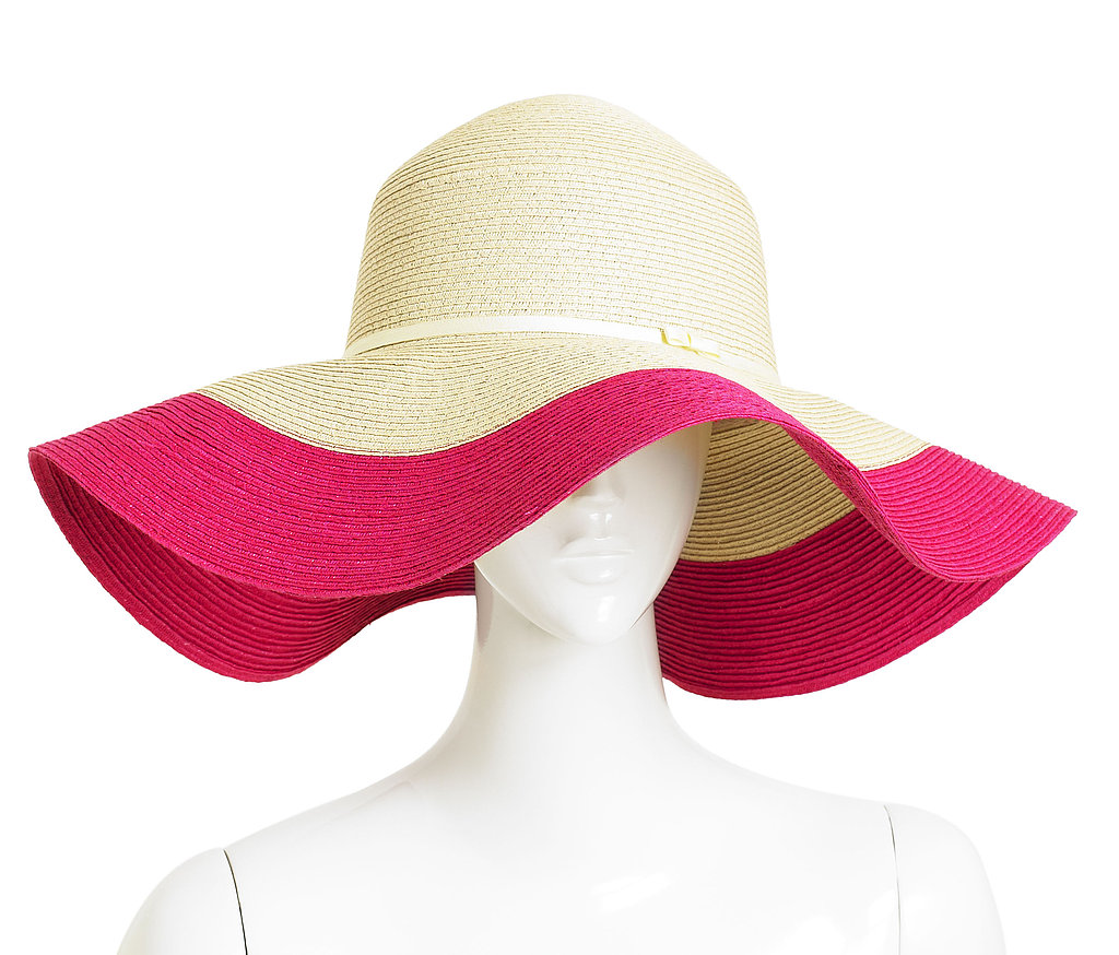Boardwalk Blocked Straw Hat, $75