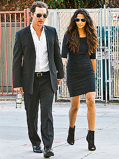 Pictures of Matthew McConaughey and Camila Alves Together in LA