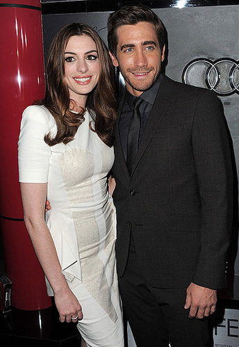 Photos de Jake Gyllenhaal et Anne Hathaway a l avant premiere de Love and Other Drugs a LA