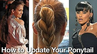 How to Do Braided Ponytail Like Jennifer Lopez and Nelly Furtado by Ken Paves