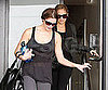 Slide Picture of Ashley Greene and Nicole Richie Leaving the Gym in LA