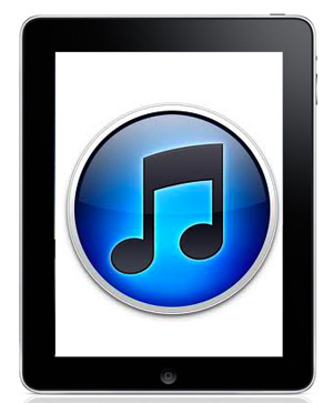 iTunes iPad Update With Ping