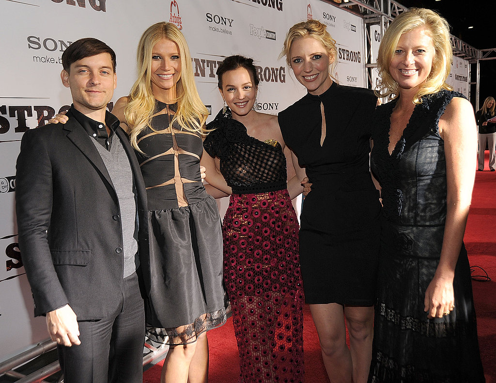 Gwyneth Paltrow and Leighton Meester at Country Strong Premiere
