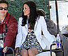 Slide Picture of Courteney Cox on Cougar Town Set