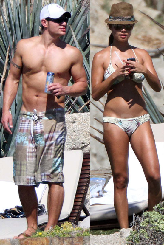 Pictures of Engaged Nick Lachey and Vanessa Minnillo on Vacation In Mexico