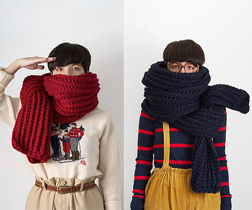 Giant Knit Scarf