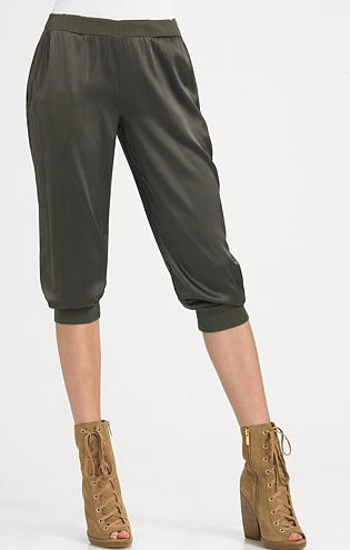 Corsen Woven Cropped Pants ($90, originally $150)