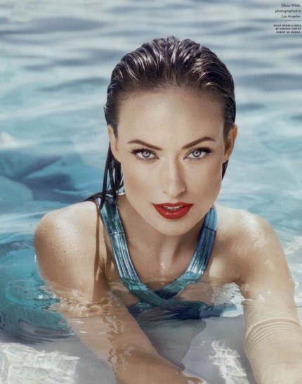 Olivia Wilde does Vanity Fair-december 2010