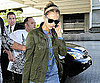 Slide Picture of Jessica Alba Wearing a Denim Shirt Arriving at LAX