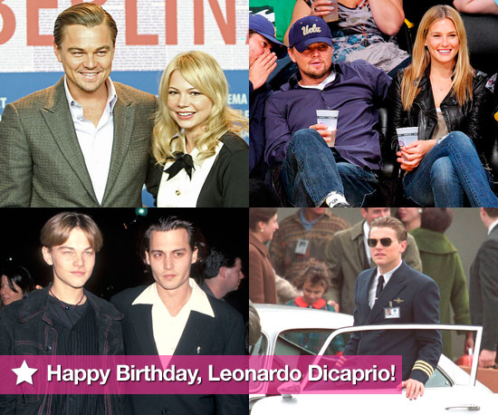 Slideshow of Photos of Leonardo DiCaprio on his 35th Birthday