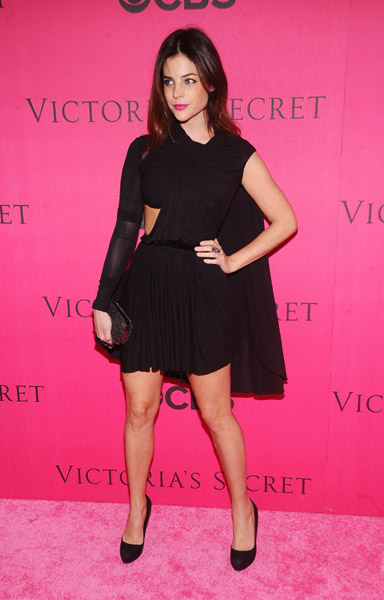 Julia Restoin Roitfeld's look is part Grecian goddess, part mini LBD — all parts fabulous.