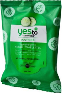 New Review of Yes to Cucumbers Face Towelettes