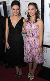 Pictures of Natalie Portman and Mila Kunis at the Black Swan Premiere in LA
