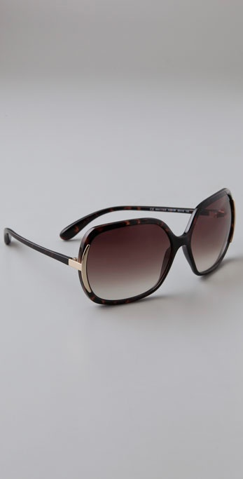 Marc by Marc Jacobs Oversized Sunglasses ($98)