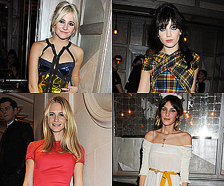 Photos of Celebrities at the Versace London Party With Alexa Chung, Daisy Lowe and Pixie Lott