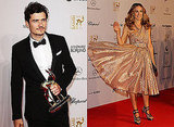 Sarah Jessica Parker and Orlando Bloom at Bambi Awards