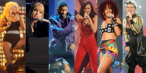 American Music Awards Performers, Including Rihanna, Taylor Swift, New Kids on the Block, The Backstreet Boys, and More
