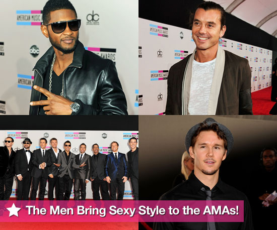 The Men Bring Sexy Style to the AMAs!