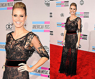 Heidi Klum at 2010 American Music Awards 2010-11-21 17:10:34